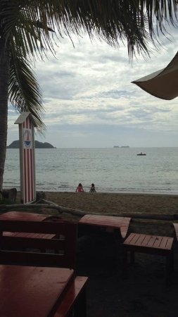 Playa Potrero, Costa Rica: The view from the lounge chairs