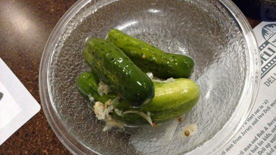 Vernon Rockville, CT: Garlic dill pickles