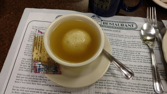 Vernon Rockville, Κονέκτικατ: Cup of Matzo Ball Soup
