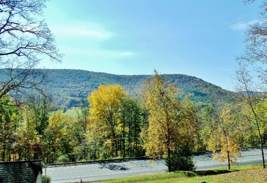 Gaines, Pensylwania: Fall View from the Cabins