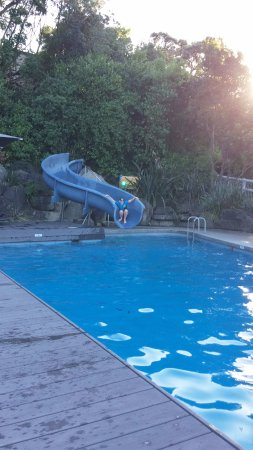 Waihi, Selandia Baru: Very nice family pool, there is a kiddie pool to the side and a spa pool at the opposite end.