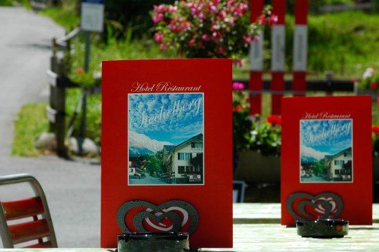 Stechelberg, Ελβετία: Front patio