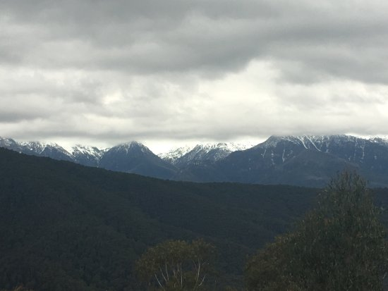 Khancoban, Australien: On the way to Thredbo, Alpine way