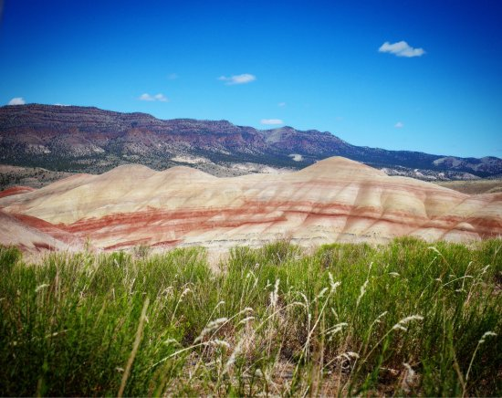Dayville, OR: John Day Fossil Beds National Monument, Painted Hills Unit