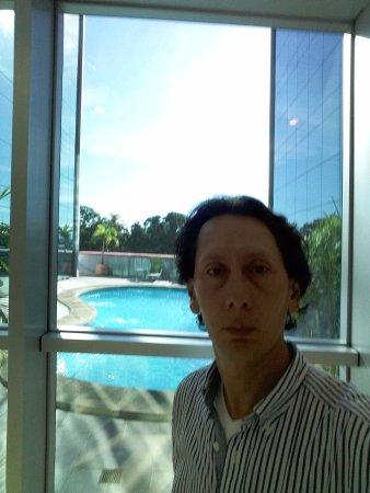 Hotel Ciudad de David: el área de piscina muy cercana y permanece concurrida