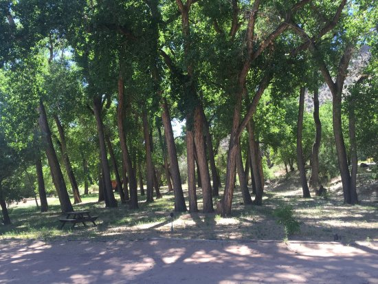 Abiquiu Inn: View of grounds around accommodations