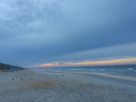 Flagler Beach Motel: View if Flagler beach