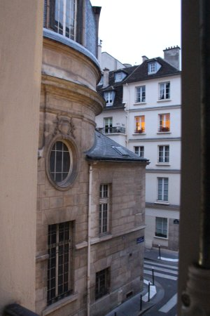 Melia Colbert - Paris: View from the window