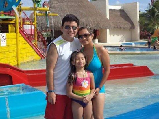 All Ritmo Cancun Resort & Waterpark: En los toboganes