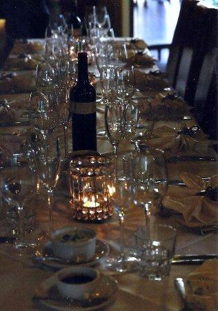 Monte Tamborine, Austrália: table setting