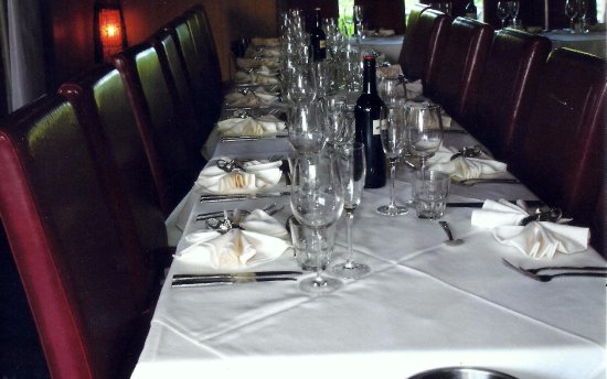 Masala Shanti The Indian Experience table setting & napkin placement - Picture of Masala Shanti The Indian Experience ...