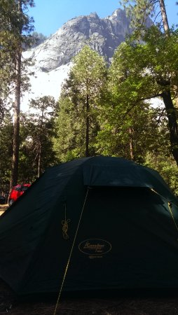 Upper Pines Campground Photo