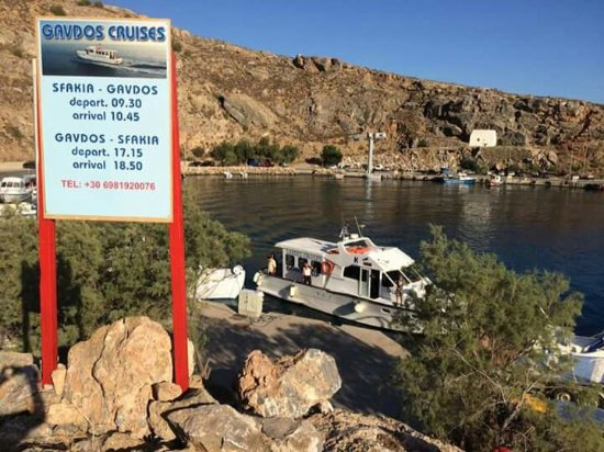 Sfakia, Greece: Gavdos Cruises