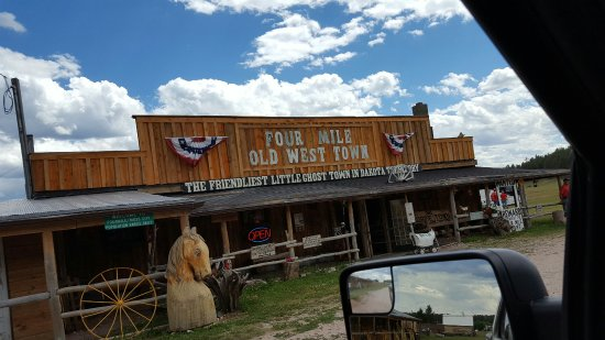 Four Mile Old West Town Foto