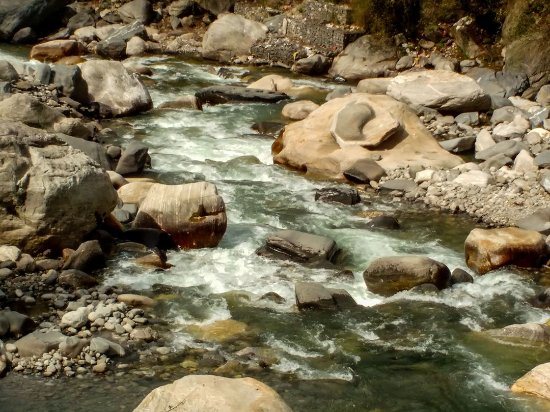Rohru, India: Pabbar river