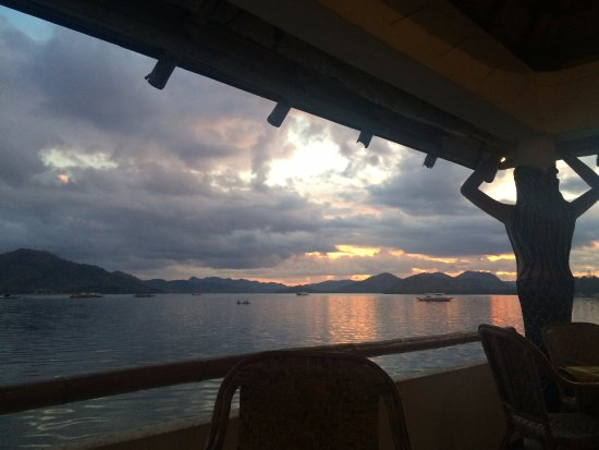La Sirenetta Restaurant & Bar: sunset view