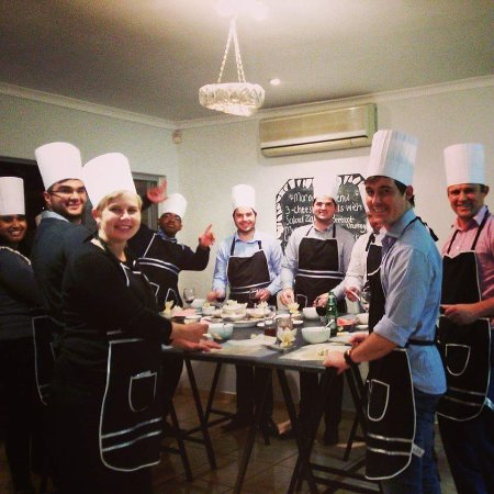 Durbanville, Güney Afrika: Corporate team build: Moroccan Cooking Class