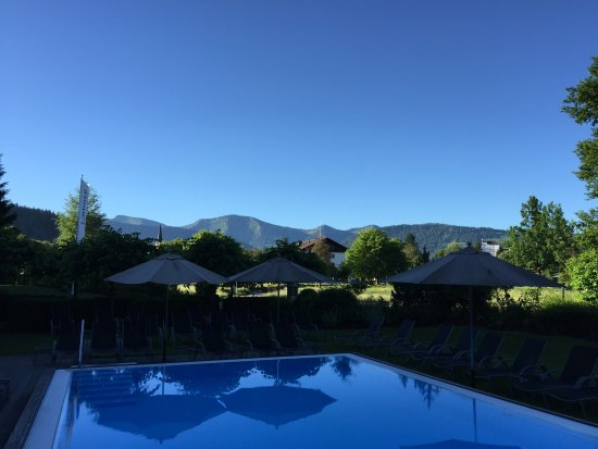 Lindner Parkhotel & Spa Oberstaufen: Außenpool