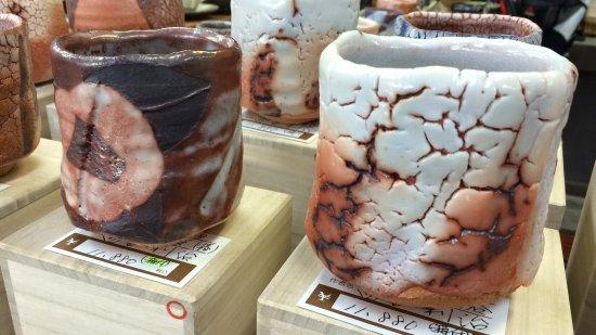 Mashiko-machi, Japón: Um paraíso para que aprecia um trabalho manual em Cerâmica, peças únicas! Tive a oportunidade de