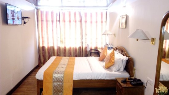 North Star Hotel: Deluxe room (Kanchenjunga view)