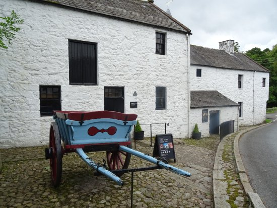 New Abbey Corn Mill: The entrance