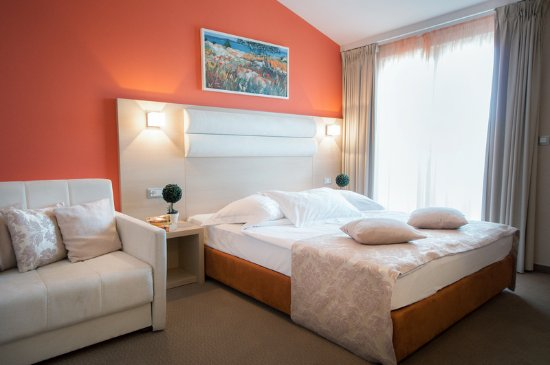 The Maritimo Hotel: Double room with sea view
