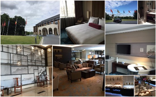 Woluwe-Saint-Lambert, Belgien: Hotel room, breakfast area and decoration