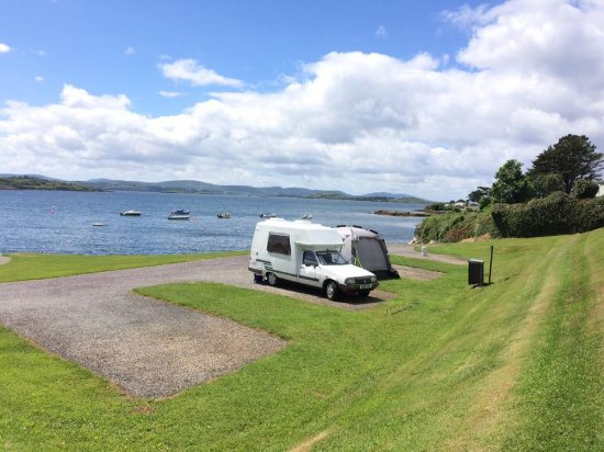 Ballylickey, Ierland: waterfront pitch