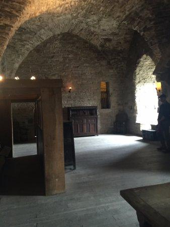 Roscrea Castle: The great hall