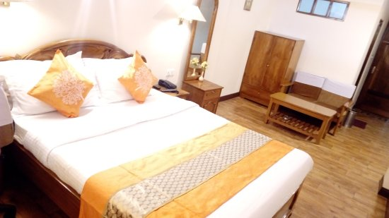North Star Hotel : Deluxe room (Kanchenjunga view)