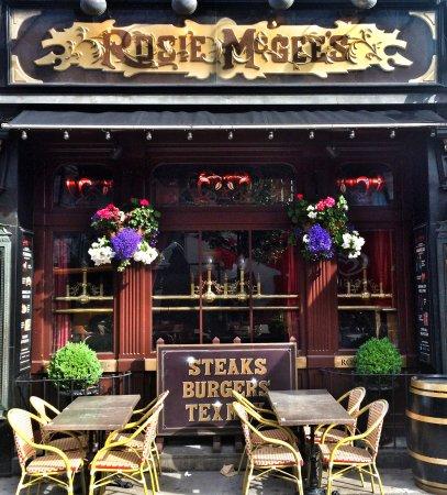 Rosie McGee's Restaurant & Bar : Rosie McGee's, Vesterbrogade 2a