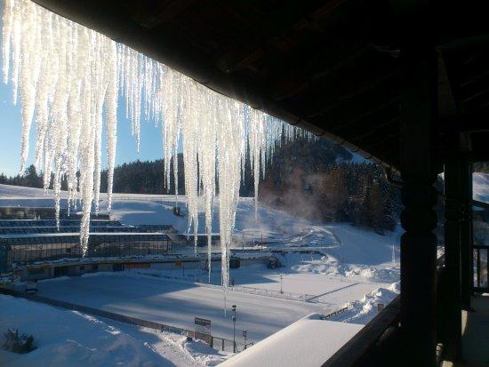 Hotel Wetterstein: Aussicht von Balkon