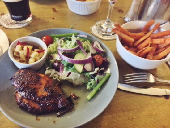 Turnditch, UK: Jamaican bbq jerk chicken
