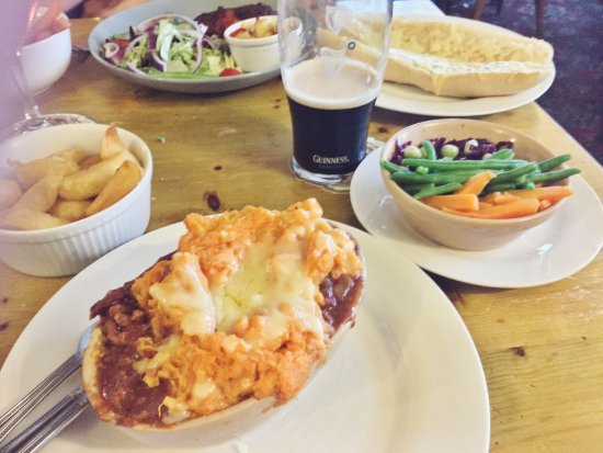 Turnditch, UK: Italian Cottage Pie