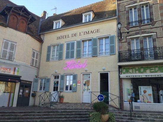 Hotel De L'Image : La façade très jolie de l'hôtel
