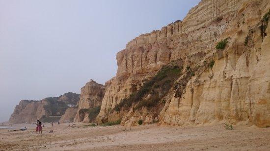 Parque de Campismo Orbitur S.Pedro de Moel: Praia de Vale Furado
