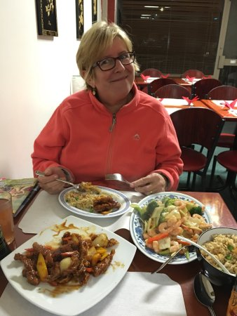 Golden Ocean Chinese Restaurant : This has to be one of the best Chinese meals we have ever had, and we've had thousands in many c