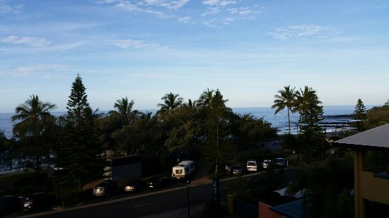 Kacy's Bargara Beach Motel Complex: Great views from Kacy's Coral Sands apartments