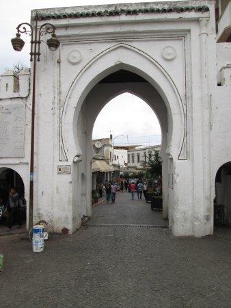 Tangier Casbah: Entrada a la Casbah