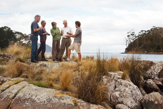 Lunawanna, Αυστραλία: Enjoying some oysters