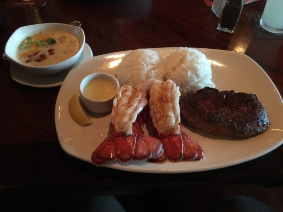 Outback Steakhouse: ロブスター&ステーキ