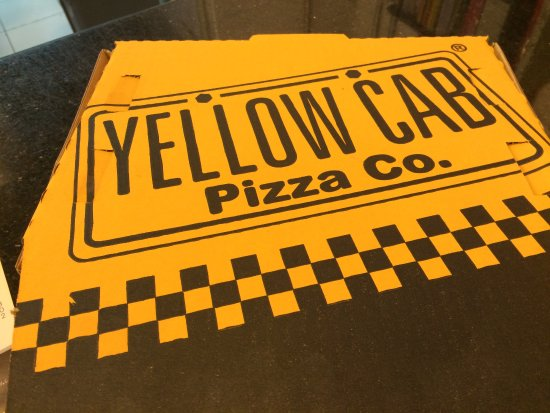 Yellow Cab Pizza: WOW