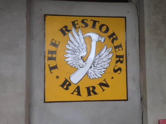 The Restorers Barn: Sign