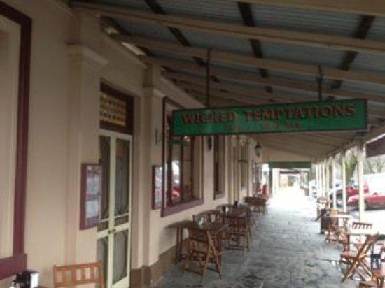 Maldon, Australia: Facade
