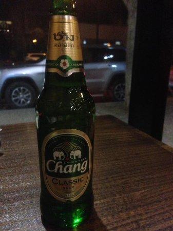Caroline Springs, Australia: Chang Beer