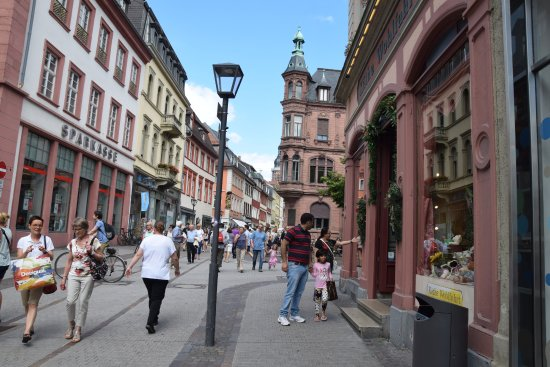 Market Square (Marktplatz) : Heidelberg Market place