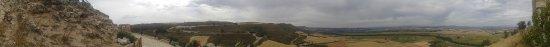 Jadraque, España: Panorámica desde el Castillo del Valle del Henares