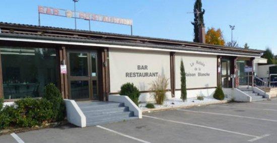 Nivolas-Vermelle, France : Entrée du restaurant