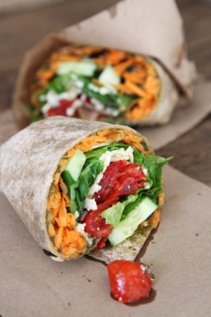 East Marion, Nova York: Veggie Wrap