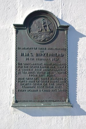 Overberg District, Sudáfrica: Memorial plaque